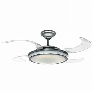 Hunter fanaway retractable blade ceiling fan pendant