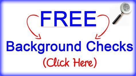 Free Background Check Free Background Checks Criminal Birth Divorce