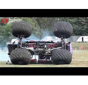 Monster Truck Crash  Slingshot Crashes At
