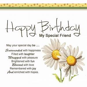 Happy Birthday Friend Poem, Poem for My Friend on Her Birthday