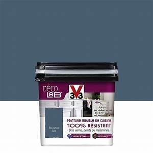Sous Couche Bois Vernis : peinture d colab meuble de cuisine 100 r sist v33 bleu ~ Dailycaller-alerts.com Idées de Décoration