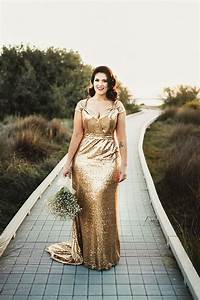 28 jaw dropping sequin wedding dresses weddingomania With gold sequin wedding dress