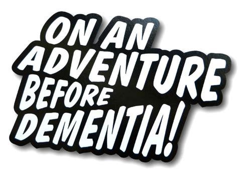 adventure  dementia funny vinyl car camper van