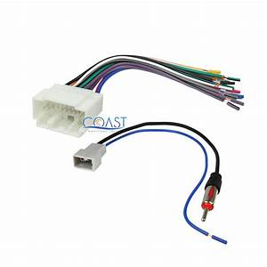 Car Wiring Harness Antenna Combo For 2005
