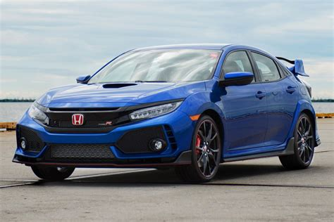 Blue Meanie The First Civic Type R Looks Resplendent In