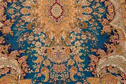 Silk Rug Persian Tabriz Handmade Royal
