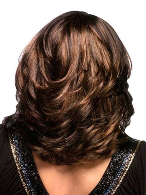 how to style medium layered hair 20 layered hairstyles that will brighten up your look