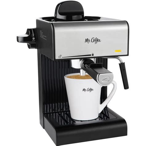 Unlike some machines, like the cafe roma (which we reviewed right here), keeping the mr. Shop Mr. Coffee Caf 20-Ounce Steam Automatic Espresso Maker and Cappuccino Machine with Built-in ...