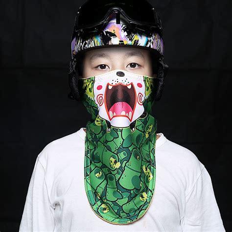 kids winter warm face mask cold protection chidren ski