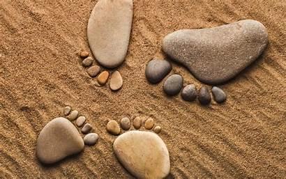 Feet Desktop Stones Backgrounds Shape Fhd Pc