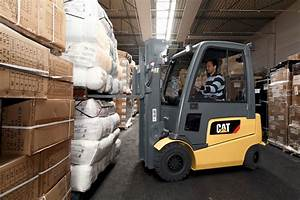 Electric Counterbalance Forklifts For Warehouse  Retail