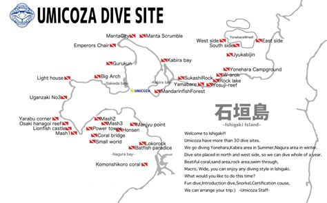 Dive Sitemap  Umicoza