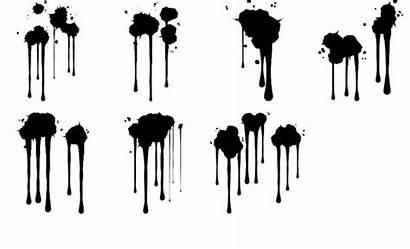 Paint Splatter Brush Drip Dripping Brushes Photoshop