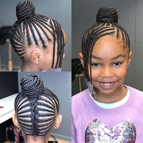 Natural Braided Hairstyles for Black Girls