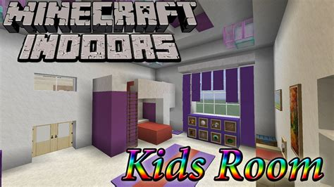 minecraft indoors kids room youtube
