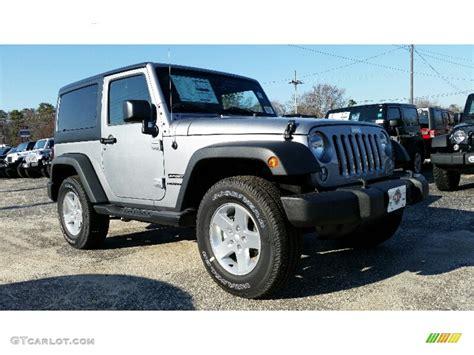 2016 Billet Silver Metallic Jeep Wrangler Sport 108972007