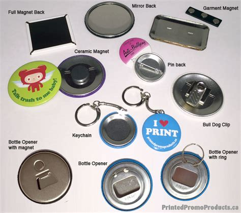 custom printed promo buttons printed promo products canada