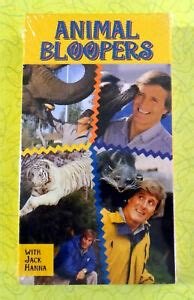 Animal Bloopers with Jack Hanna ~1993-1994 VHS Movie ...