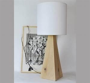 Lampe Bois Design : lampe de bureau bois brut lampe bois flott loftboutik ~ Teatrodelosmanantiales.com Idées de Décoration
