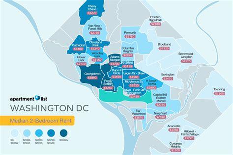 dc washington rent apartments map apartment metro