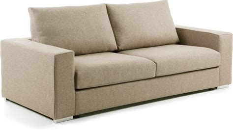 big sofa beige laforma big sofa 3 seaters fabric beige design wonen