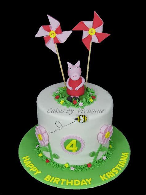 peppa pig  birthday cake cakecentralcom