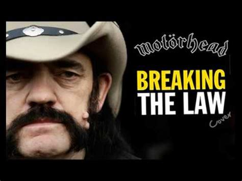 Motörhead  Breaking The Law (judas Priest Cover) Youtube
