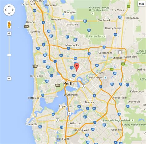 map  perth locating home  home home  home