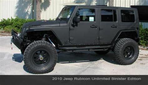 jeeps matte black black jeep rubicon vehicle feature overbuilt custom s