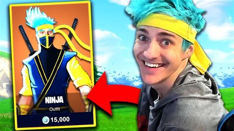 ninja skin unlocked fortnite funny fails wtf