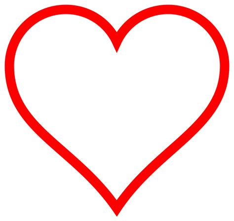 The free images are pixel perfect to fit your design and available in both png and vector. File:Heart icon red hollow.svg - Wikimedia Commons