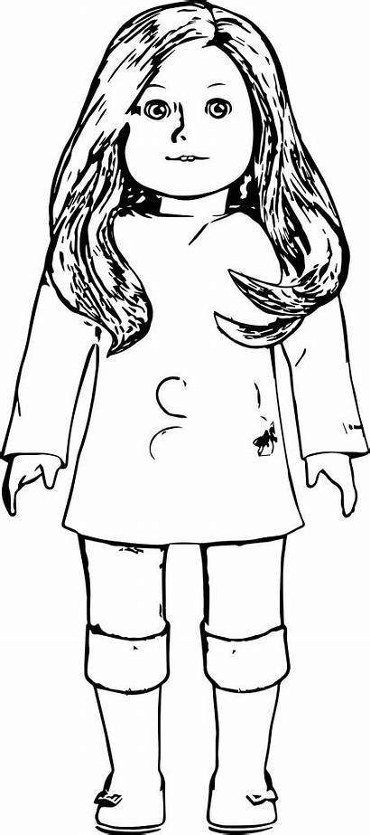 Coloring Pages American Doll Colouring Printable Sheets