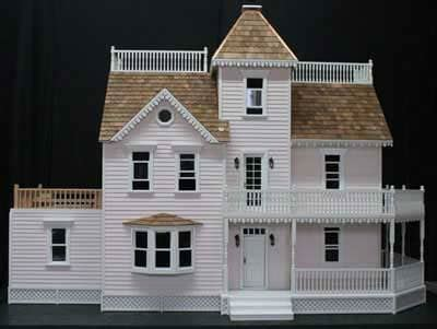 instructional woodworking project dvd miniature dollhouse