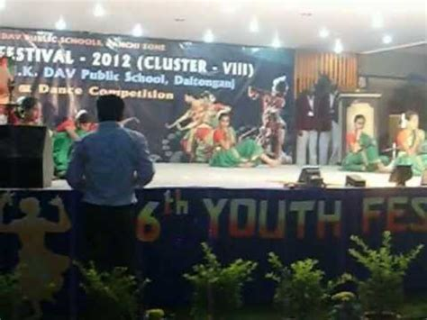 youth festival mk dav daltonganjjharkhand
