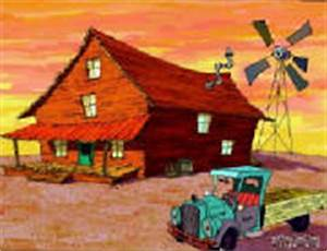 Bagge Farmhouse - Courage the Cowardly Dog