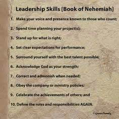what were the g... Nehemiah Leadership Quotes