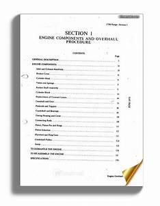 Ford 2700 Range Diesel Engine Workshop Manual