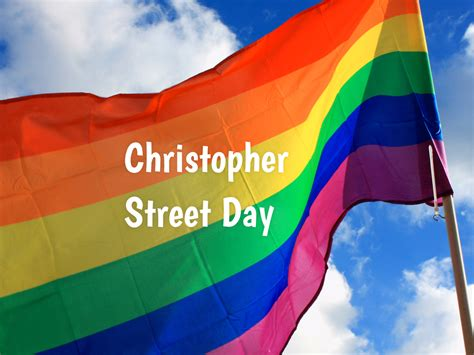 christopher street day        celebrated