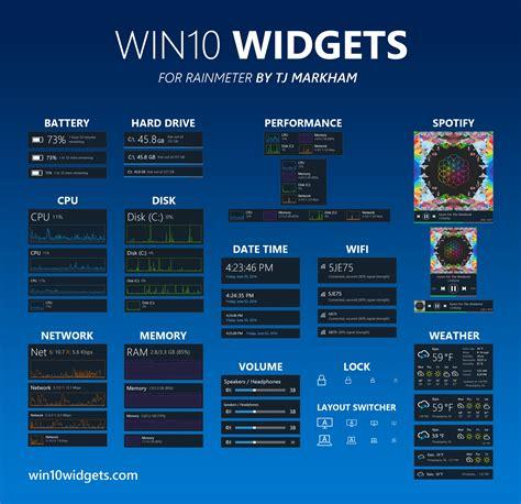 choisir un ordinateur de bureau win10 widgets apporte les gadgets sur windows 10 justgeek