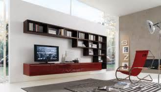 livingroom storage 20 modern living room wall units for book storage from misuraemme digsdigs