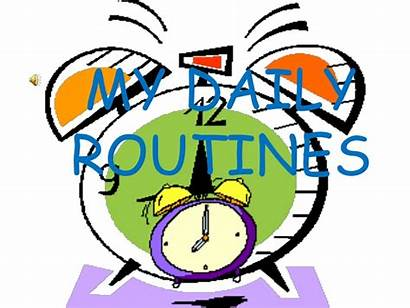 Routine Daily Routines English Activity Slideshare Integration