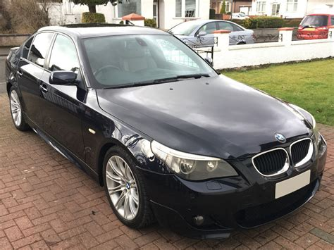 2005 Bmw 525i For Sale by 2005 Bmw 5 Series 525i 2 5 M Sport Manual 4dr Saloon E60