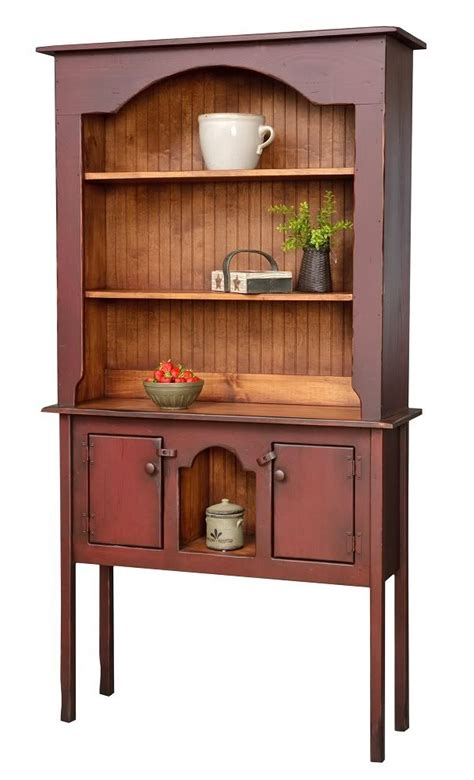 Usa Primitive Furniture Hutch Decor Rustic Country Kitchen