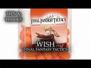 Tips Tricks Wish Final Fantasy Tactics RPG Maker