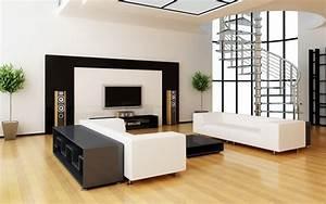 Deco Salon Moderne : deco interieur salon design design en image ~ Teatrodelosmanantiales.com Idées de Décoration