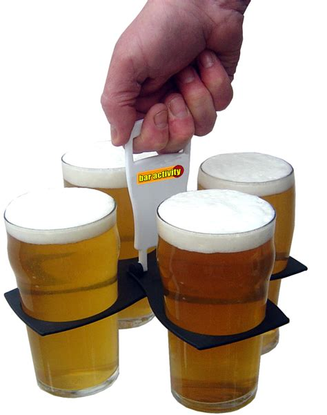 foldable bar 4 pint drink carrier price drop
