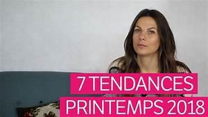 Mode Printemps 2018 : les 7 tendances mode printemps 2018 youtube ~ Nature-et-papiers.com Idées de Décoration