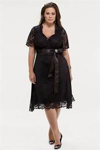 robe noire dentelle grande taille pour mariage avec With robe longue grande taille pour mariage