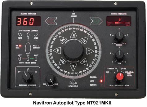 auto pežot navitron systems ltd nt921 mkii autopilot