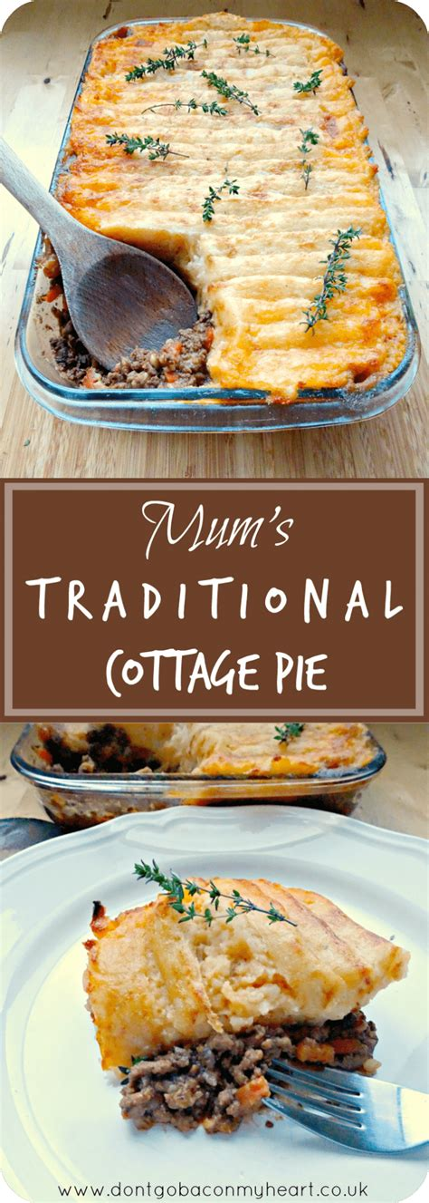 Cottage Pie Recipe Traditional by S Traditional Cottage Pie Don T Go Bacon My
